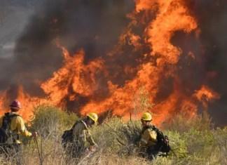 California wildfires rage