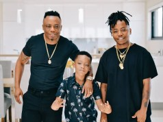 DJ Tira and his sons
