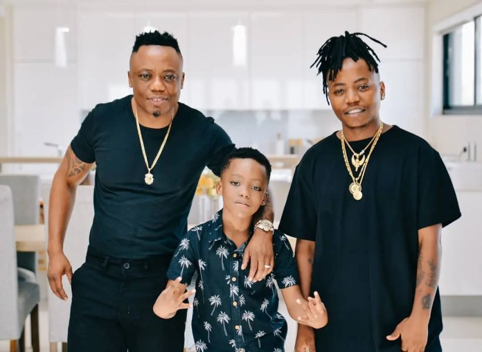DJ Tira and his sons