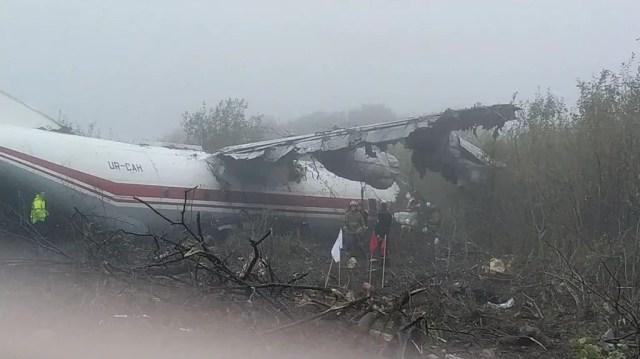 Five killed in Ukraine plane crash