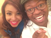 Khaya Dlanga and Boity Thulo