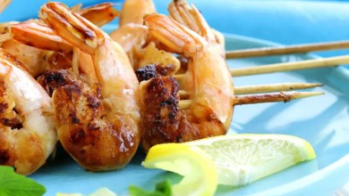 Photo of Lemon and ginger prawns – Recipe
