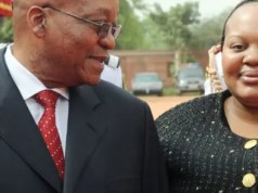 Nompumelelo Ntuli Zuma and Jacob Zuma