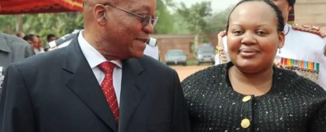 Nompumelelo Ntuli Zuma and Jacob Zuma