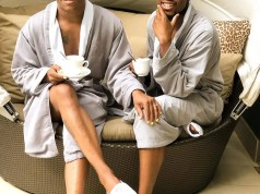 Somizi Mhlongo and Mohale