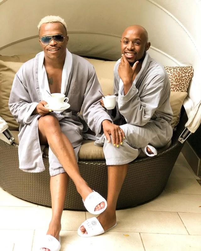 Somizi Mhlongo and Mohale