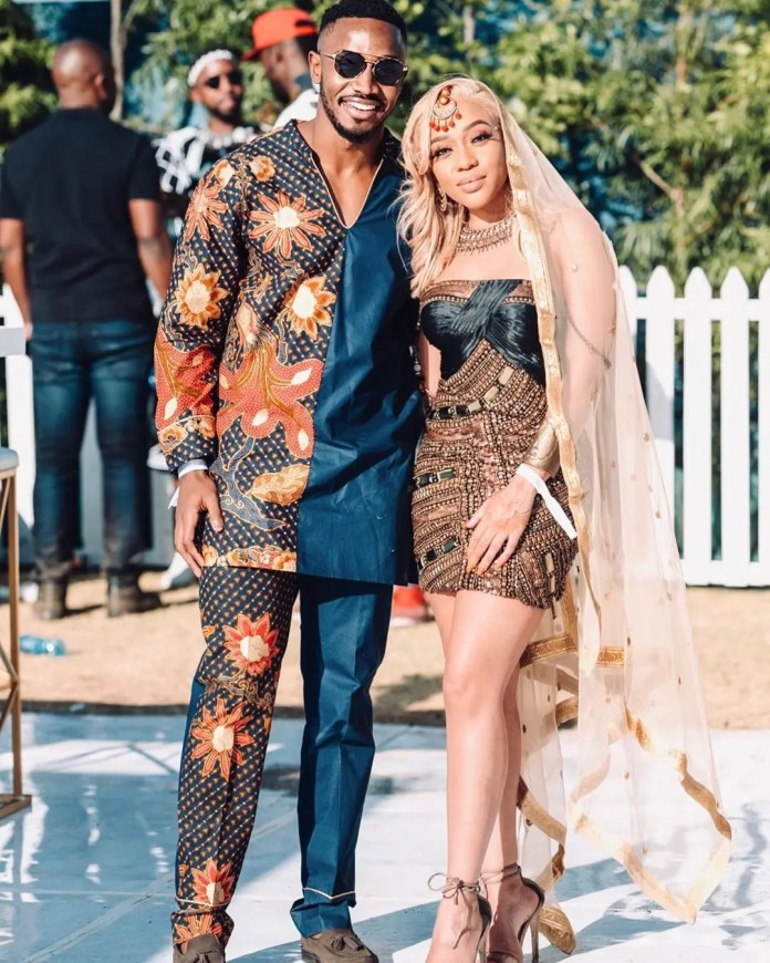 Thando Thabethe and Lunga Shabalala are dating