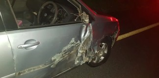 Two injured in Uvongo collision