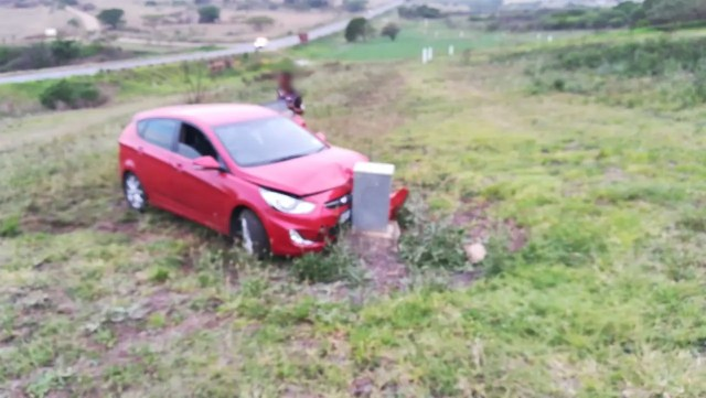Two occupants escape serious injury