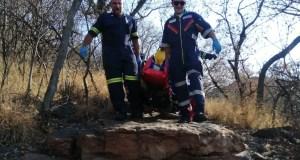 Woman injured hiking
