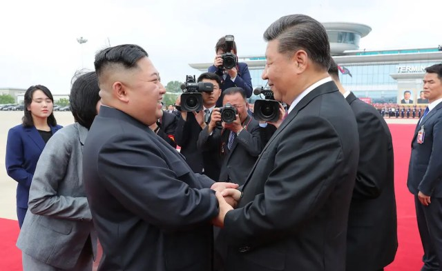 Xi and Kim hail immortal China-North Korea relationship