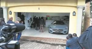 Zandile Gumede house raid