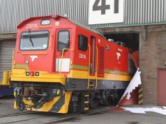 fleet of new locomotives for Transnet