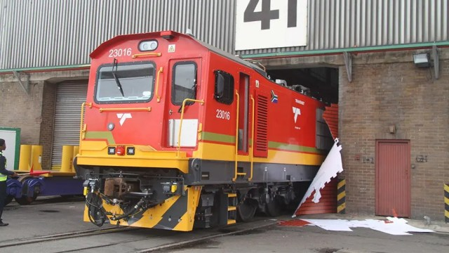fleet of new locomotives for Transnet
