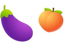 sexual emojis