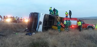 5 dead in KZN bus accident