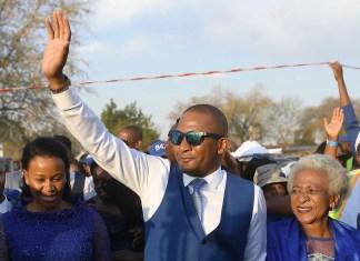 Botswana opposition leader