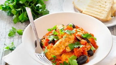 Photo of Chicken Breasts with Tomatoes and Olives – Recipe