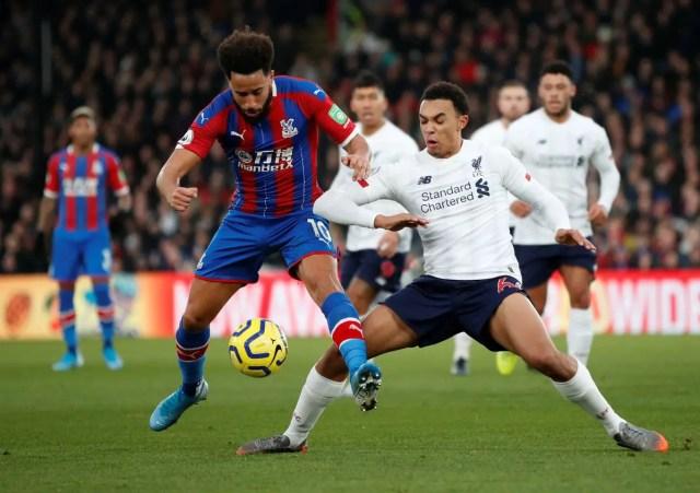 Crystal Palace 1 - 2 Liverpool