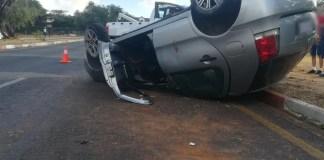Driver rolls car in Noordheuwel