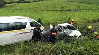 Durban head on collision