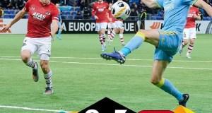 FC Astana 0-5 AZ Alkmaar