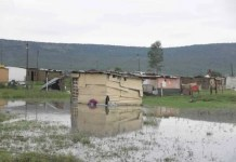 Heavy rain and flooding in KwaZulu-Natal