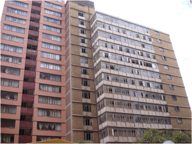 Hillbrow buildings