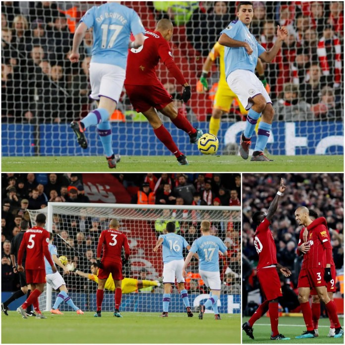 Liverpool 2 - 0 Manchester City