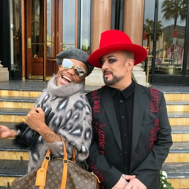 Somizi and Boy George