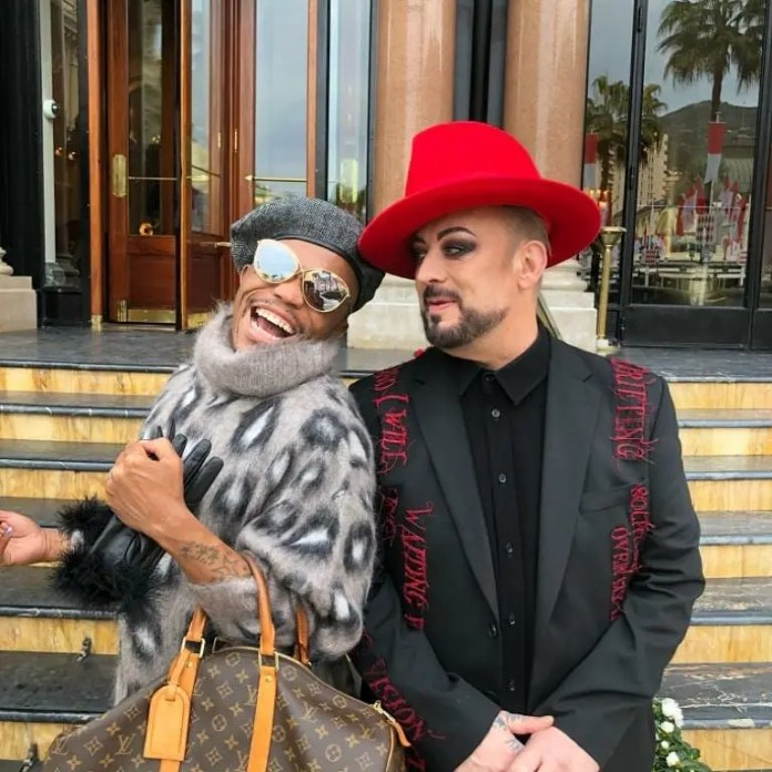 Somizi and Boy George