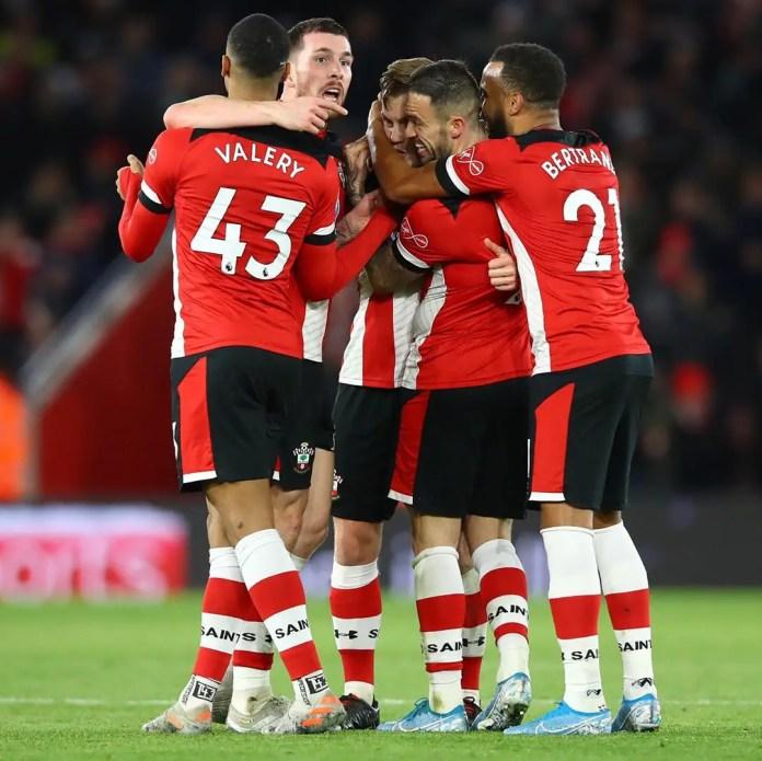 Southampton 2 - 1 Watford