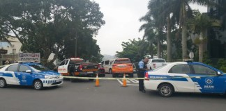 Suspected robber shot dead outside a Durban mall