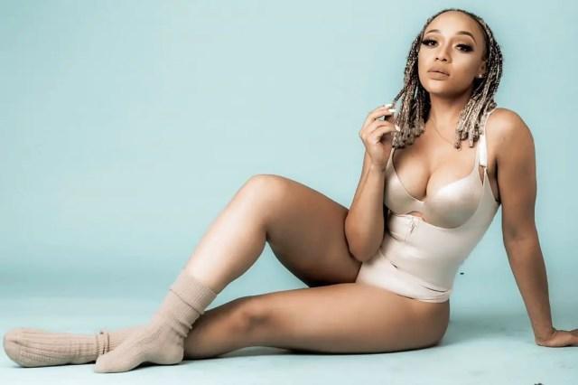 Thando Thabethe Bikini