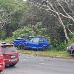 Three injured in Uvongo crash
