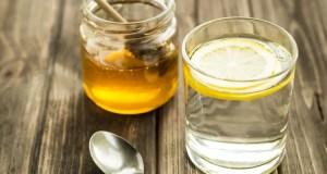 Water, honey, lemon