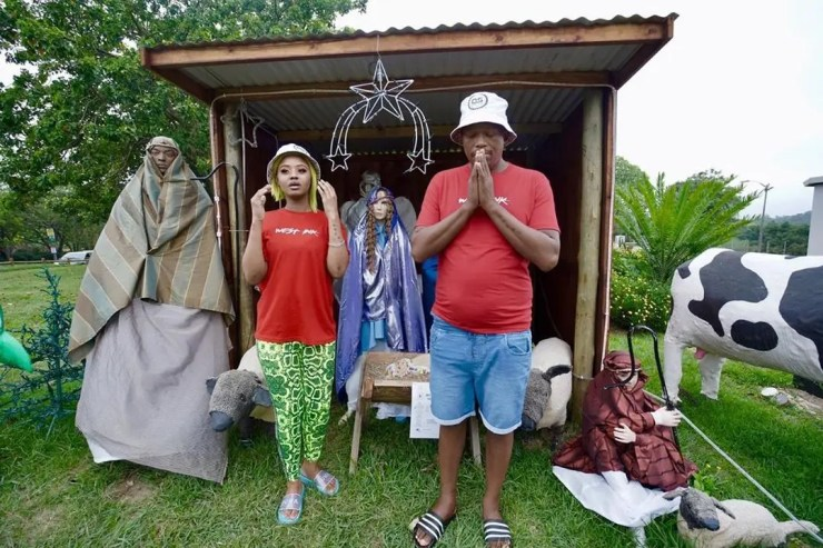 Babes Wodumo & Mampintsha spent Christmas on the streets
