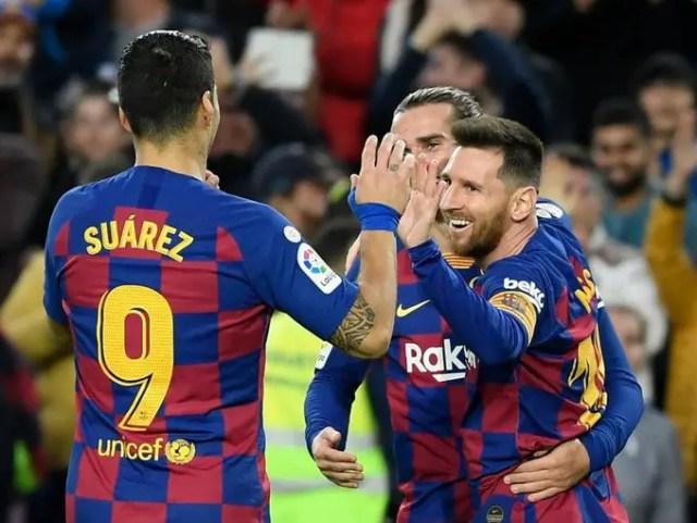 Barcelona 4 - 1 Alaves