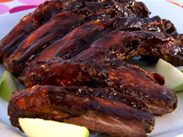 Beef BBQ ribs