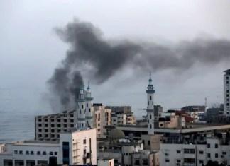 Israel hits Gaza