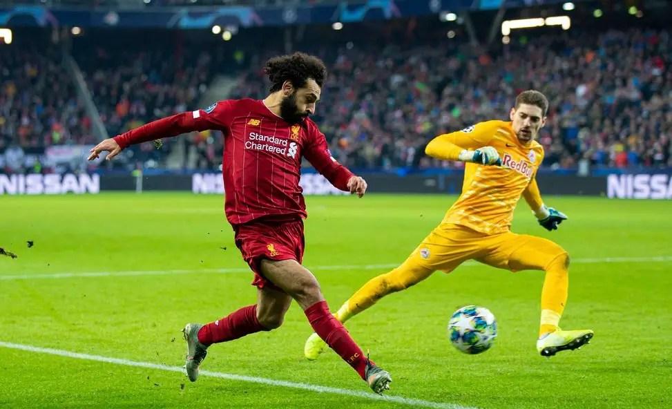 Liverpool 2 - 0 Red Bull Salzburg