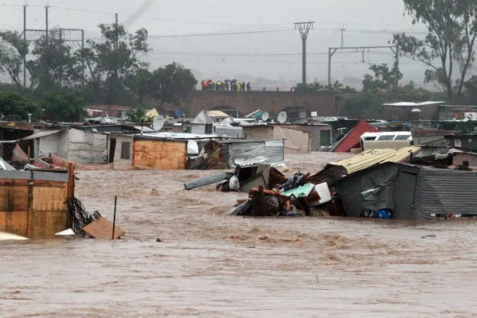 Mamelodi floods has died