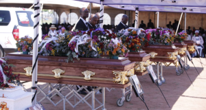 Seven family members who died and burnt beyond recognition in a horrific car crash Pretoria, have finally been buried