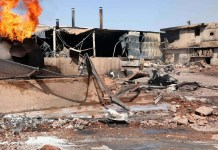 Sudan factory fire