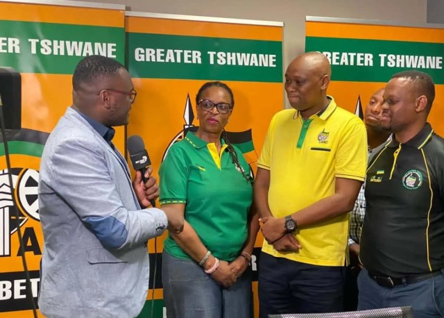 African National Congress (ANC), in Tshwane