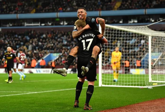Aston Villa 1 - 6 Manchester City