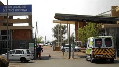 Bheki Mlangeni Hospital in Soweto