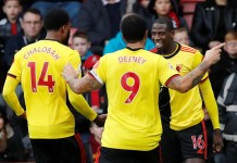 Bournemouth 0-3 Watford