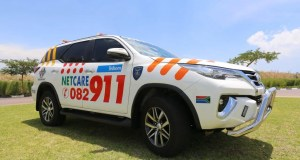 Child airlifted to hospital