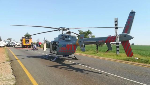 Four injured in Rustenburg head on collision